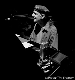 Jeff Presslaff on piano