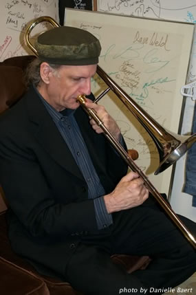 Winnipeg trombone player Jeff Presslaff
